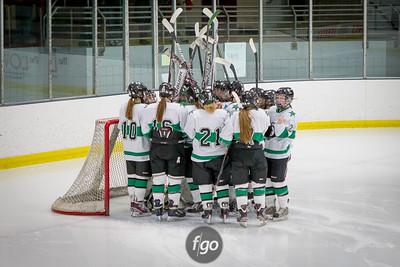 12-10-13 St. Paul Blades v Minneapolis Novas Girls Hockey