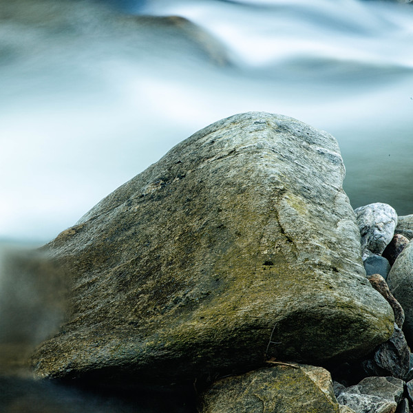 Stones on the Bank - Color