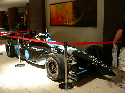 2008 Indy 500 Display Cars