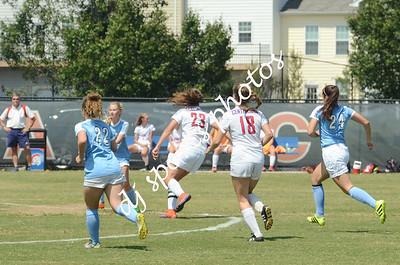 2017-08-26 CAL Varsity girls soccer vs Mercy