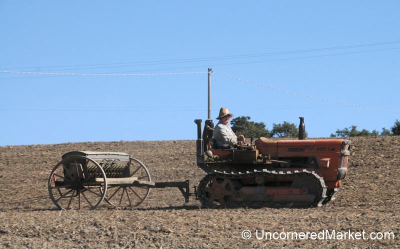 Farming in Tuscany - Italy