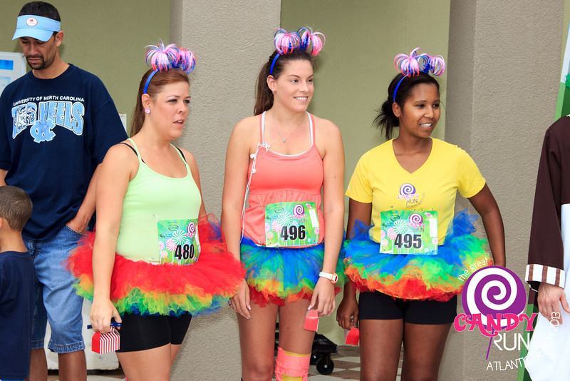 The Great Candy Run 2013, Atlantic Beach, Florida.  Photograph: Kelly Morrell -