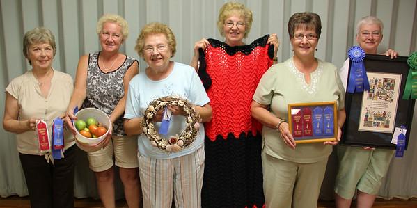Fair Ribbons, Lewistown Valley Garden Club, Zion Church, Lewistown Valley (8-29-2012)
