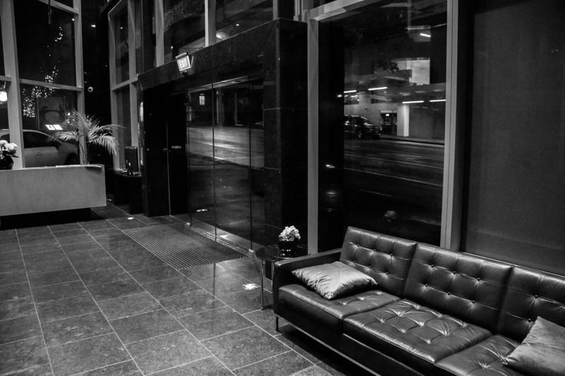 Lobby. Auckland 2014.