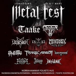 CENTINEX - Jönköping Metal fest March 2020