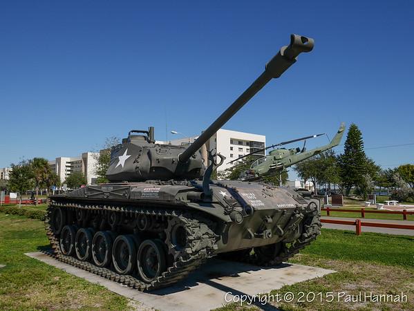 Veterans Memorial Park - Merritt Island, FL - M41A3 & M113