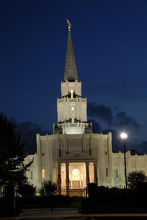Mormon Temple in Houston