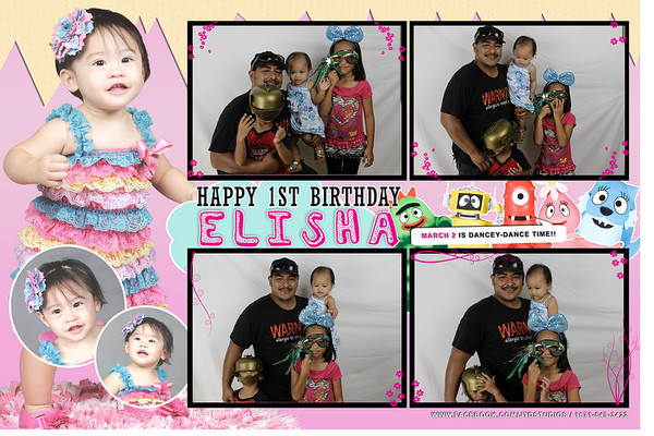 Elisha's 1st birthday
