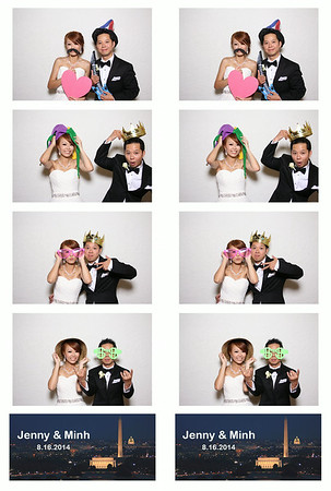 Jenny and Minh Photo Booth