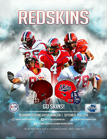 2014 Neshaminy Football Magazine and a few ads