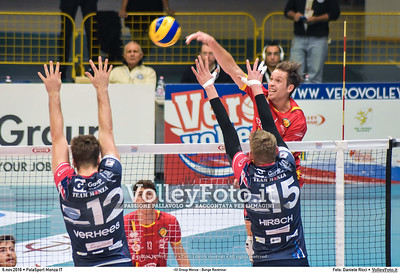 8ª #SuperLega «Gi Group Monza - Bunge Ravenna»