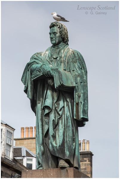 Thomas Chalmers statue, George Street (1)