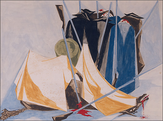 "Jacob Lawrence, ""Defeat,"" 1954"