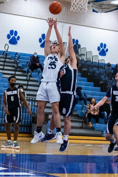2021-01-23 -- Twinsburg vs Solon High School Freshmen Boys Basketball