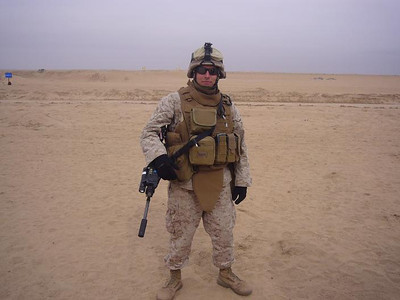Rob in Kuwait 2008