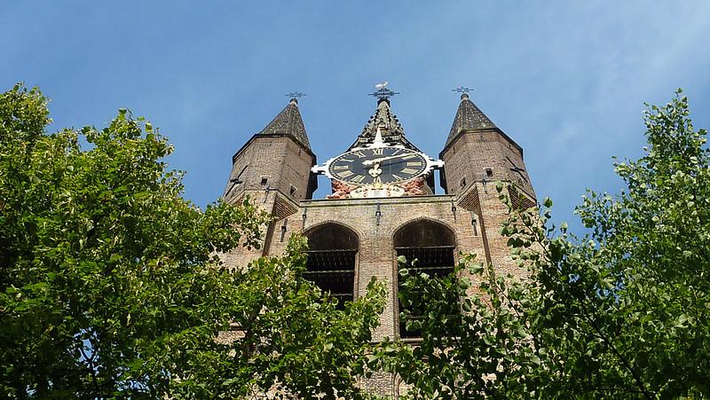 Oude Kerk, Delft. Johannes Vermeer, the painter, is buried here.