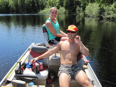KLEUTSCH LAKE FISHING JUNE 2010