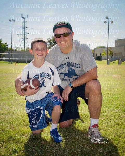 Honey Badgers Football - Fall 2012