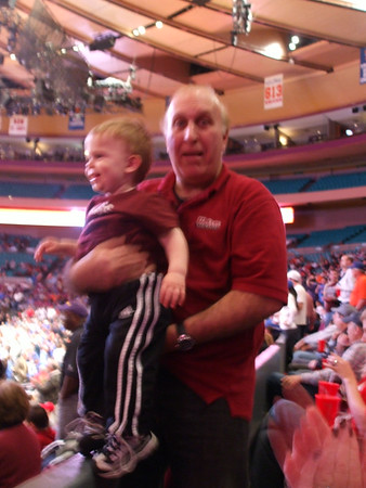 April 3 - New York City, UMass at NIT at MSG