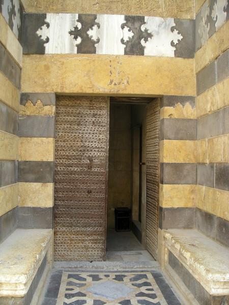 A door at the Citadel, Aleppo