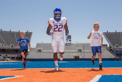 Boise State and the BLM: Sports Portraits