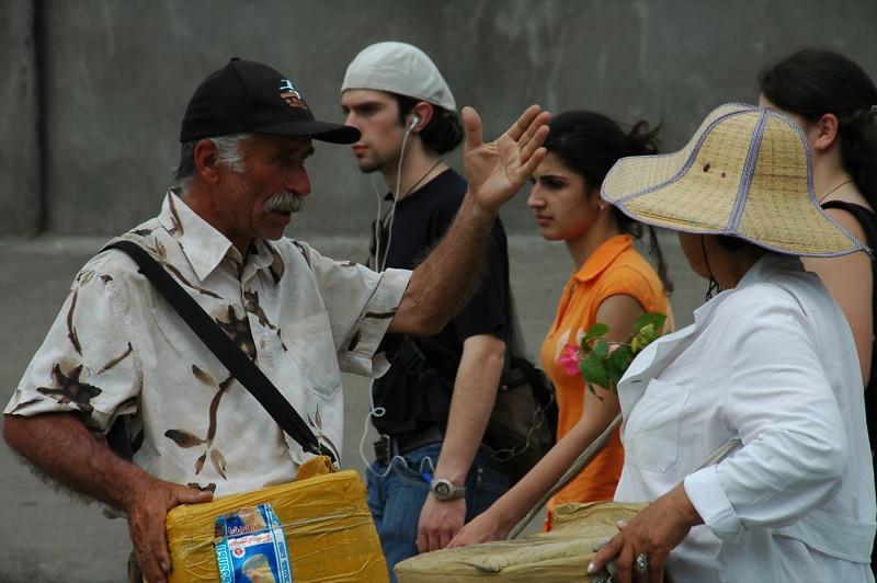 Ice Cream Vendors - Tbilisi, Georgia