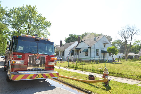 Melvindale ( Dearborn) House Fire- Wood Street.