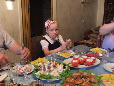 2013-05-14, Olya's 7th birthday
