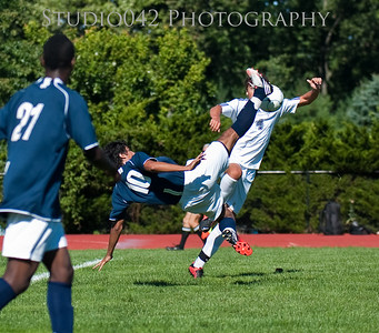 MHS Mens V Soccer v. Seton Hall 9-15-2012