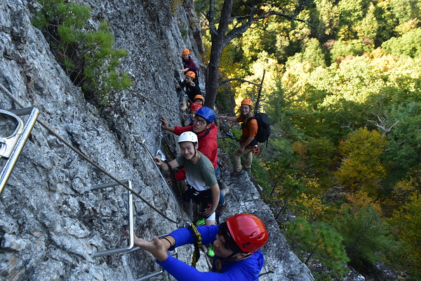 Sophomore Rock Climbing Trip