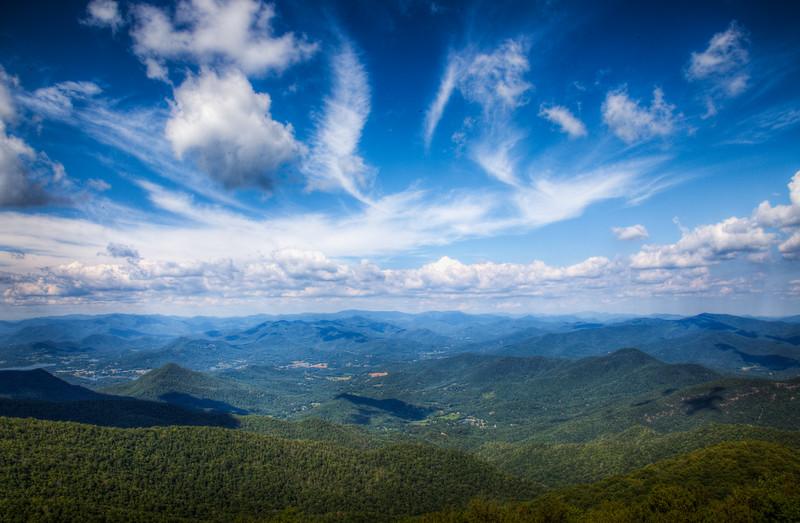 View from Rabun Bald.