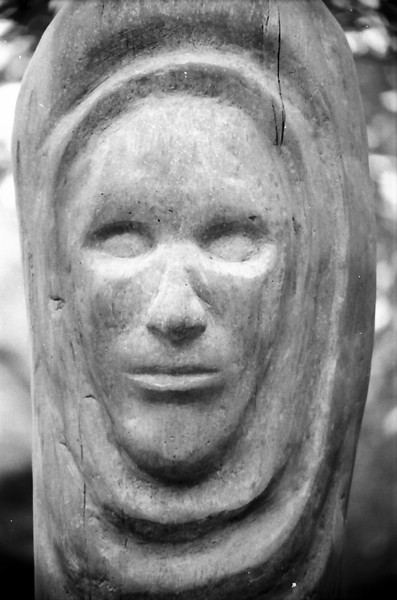 Roanoke Island Festival Park Faces in Black and White