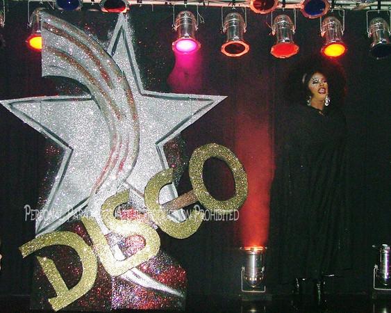 Charlie Brown Cabaret Host Drag Idol 70s