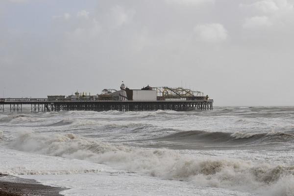 Storm Brewing in Brighton October 2013