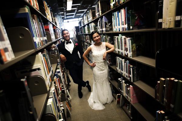 Christie & Daniel @ New Central Library
