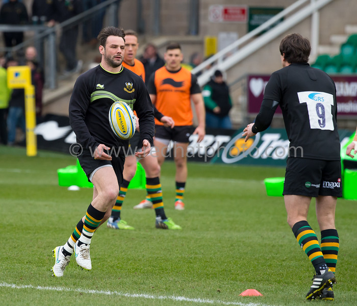Northampton Saints vs Worcester Warriors, Aviva Premiership, Franklin's Gardens, 27 February 2016