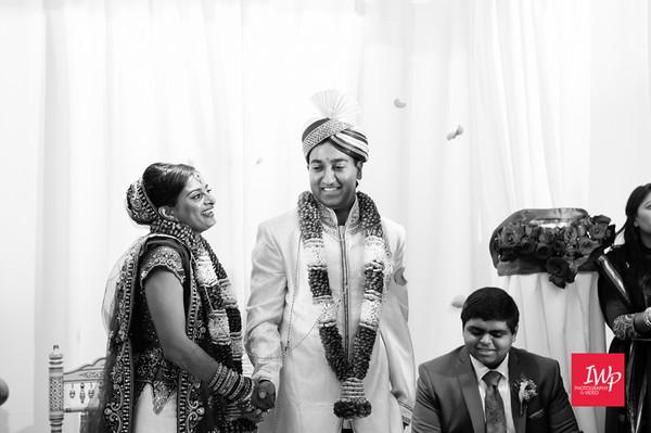 Krupa and Tejas: wedding ceremony