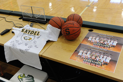 Saydel Basketball Media Day 2012