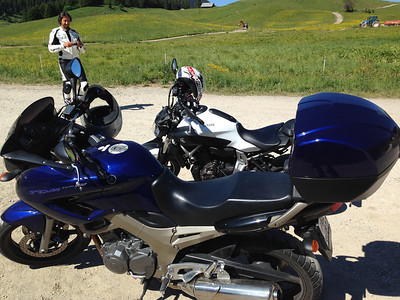 Moto Ride in French Alps