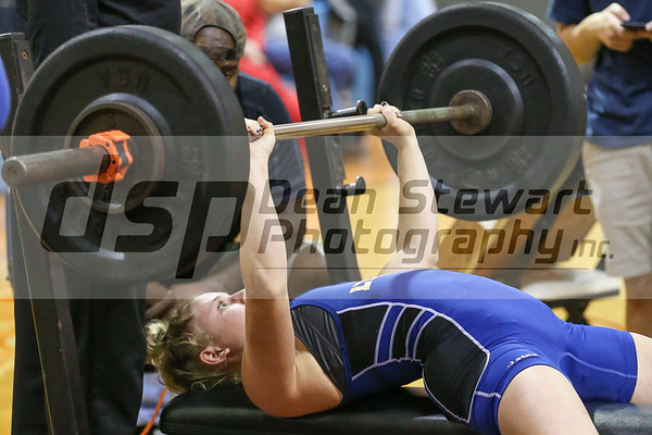 1-24-19 Lyman Girls Weight Lifting