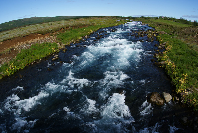 We crossed this river on the way to our third stop:  Gullfoss, a waterfall.