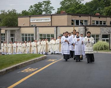 2017 Ordination of Transitional Deacons - Legionaries of Christ - Saint Bridget Church (Chesire, CT)