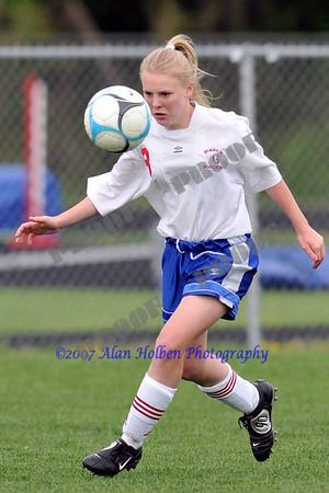 Freshman Girls Soccer - Grand Ledge at Mason - May 8