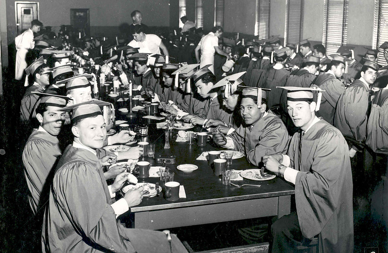 1950, Graduation Meal