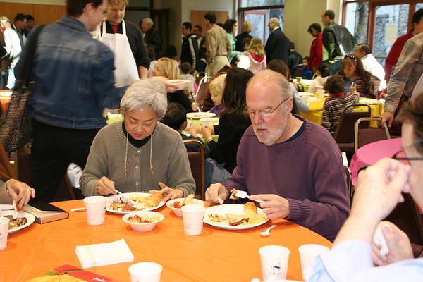 Dads' Pancake Breakfast 2007
