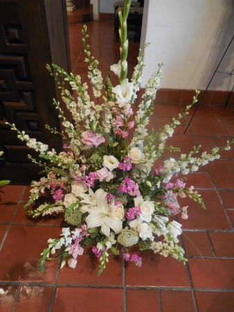 Church  flowers $195