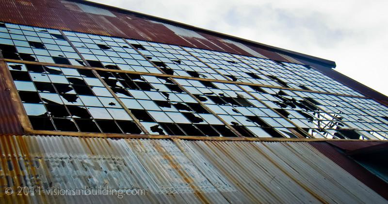 Warehouse No. 6, looking up