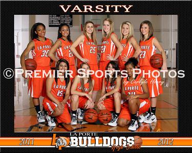 2011-12 La Porte High School Girls Basketball