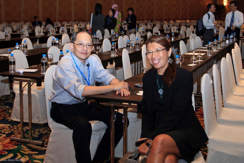 Dr Alan Teh and Dr Adelina Cheong