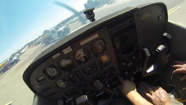 2017-04-19 Flight Headcam Landings